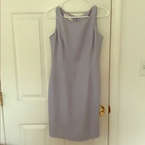 Baby blue cocktail dress